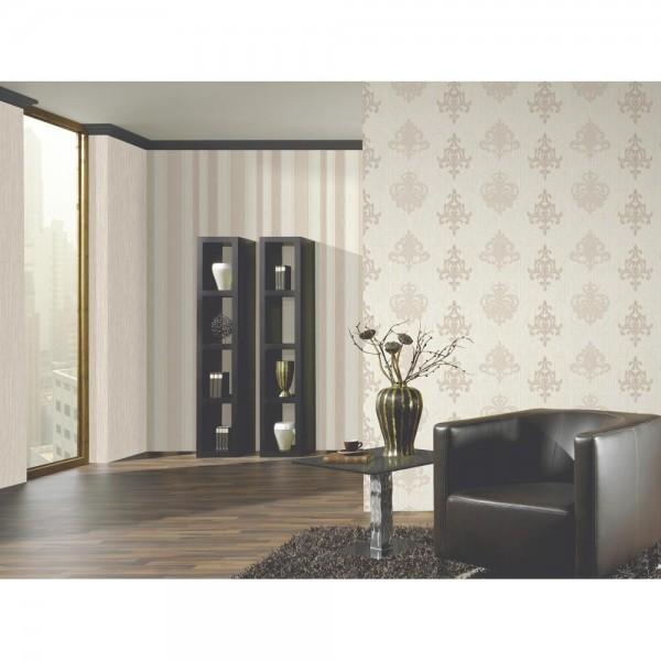 P+S Tapete 13196-10 Ornamentic, Streifen Tapeten, Beige, hochwaschbeständig, gute Lichtbeständigkeit