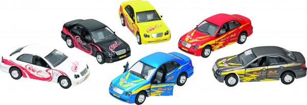 Sportwagen Cool Car, Licht und Sound, Spritzguss, L= 15 cm