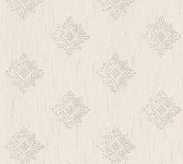 A.S. Création, Tessuto 2, # 962002, Vliestapete, Creme Grau