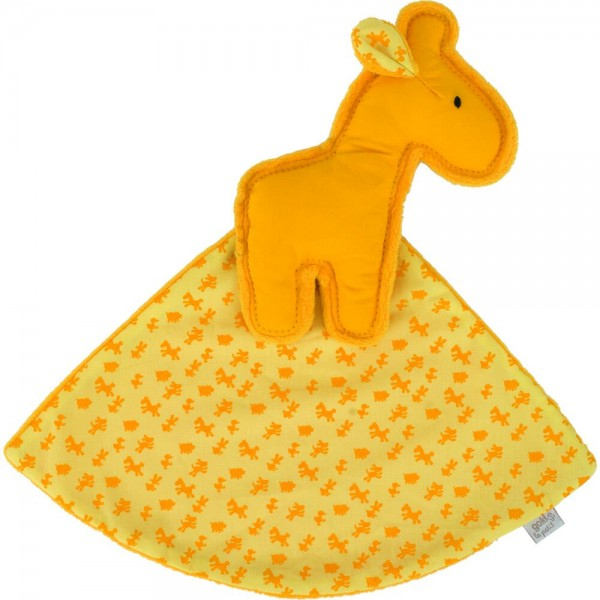 Kuscheltuch Giraffe, le petit