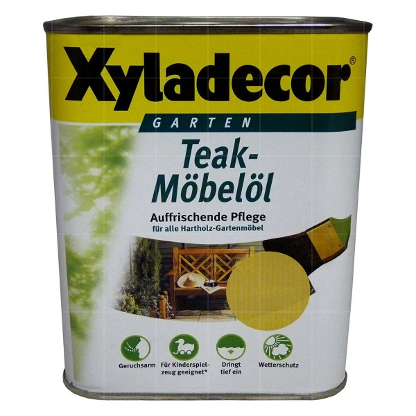 Xyladecor Teak-Möbelöl 750ml, teak