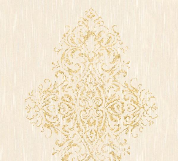 A.S. Création, Luxury wallpaper, # 319452, Vliestapete, Beige Metallic