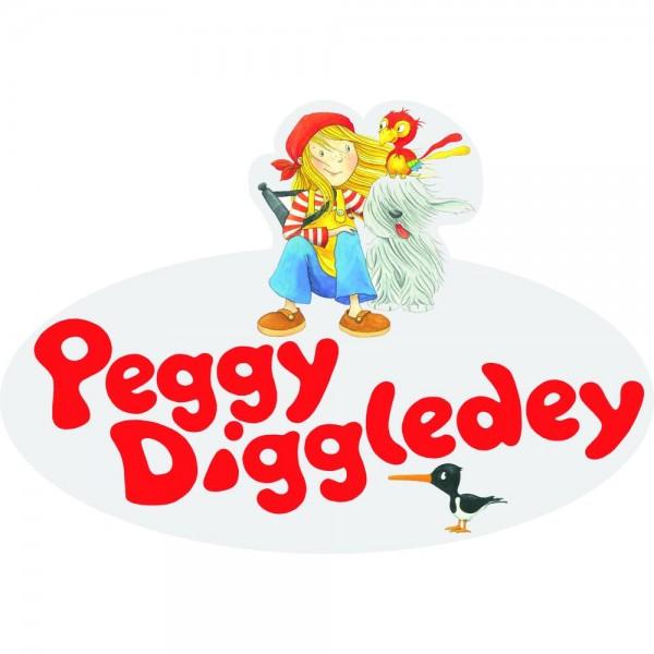 Logo zum Aufhängen, Peggy Diggledey