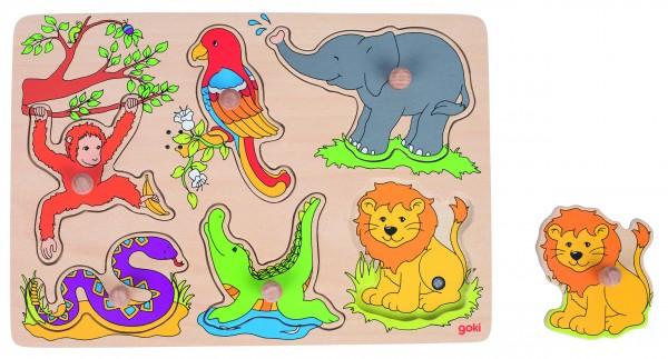 Soundpuzzle Zootiere, mit Tierstimmen