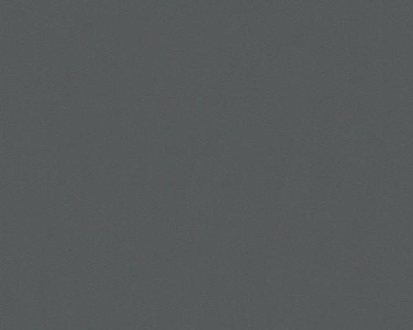 A.S. Création Tapete - Meistervlies 5, Glatte Wand, # 309549, uni, grau schwarz, 10,05 m x 0,53 m