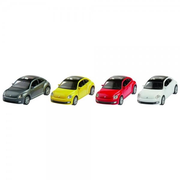 VW New Beetle (2012), Spritzguss, 1:34-39, L= 12 cm