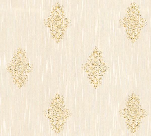 A.S. Création, Luxury wallpaper, # 319462, Vliestapete, Beige Metallic
