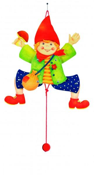GOKI Hampelfigur Junge, Holzspielzeug