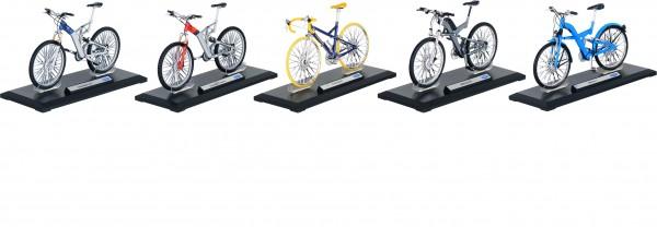 Fahrräder, Spritzguss, 1:10, L= 18 cm