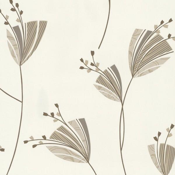 P+S Tapete 13226-50 Lacantara III, Florale Muster, beige, hochwaschbeständig, gute Lichtbeständigkei