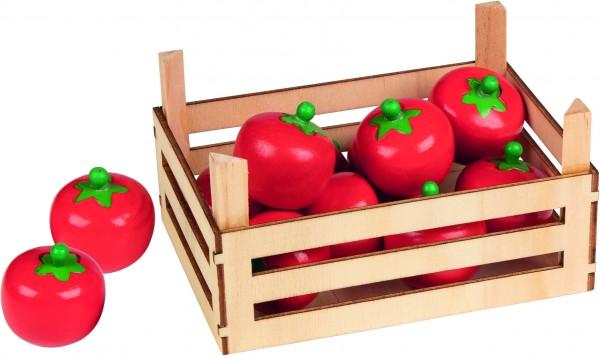 Tomaten in Gemüsekiste