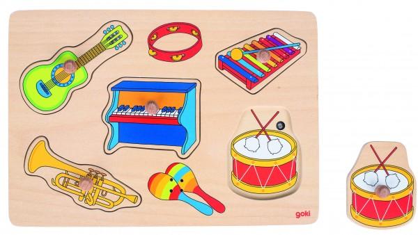 GOKI - Soundpuzzle Musikalien, mit Instrumentensounds