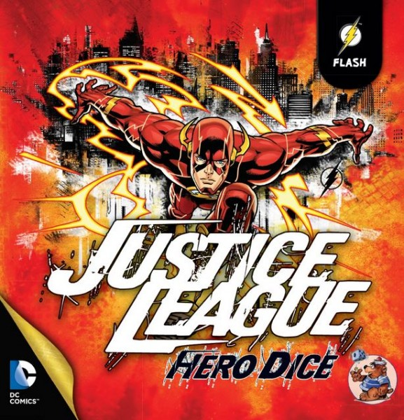 Asmodee - Justice League: Hero Dice - Flash Set Deutsch - Würfelspiel