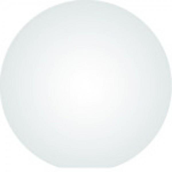 Clickhalbperle weiß