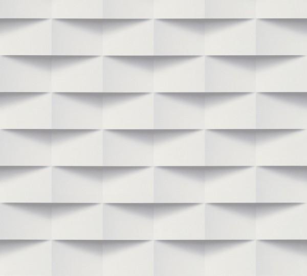 A.S. Création, Scandinavian 2, # 302481, Vliestapete, Grau Weiß