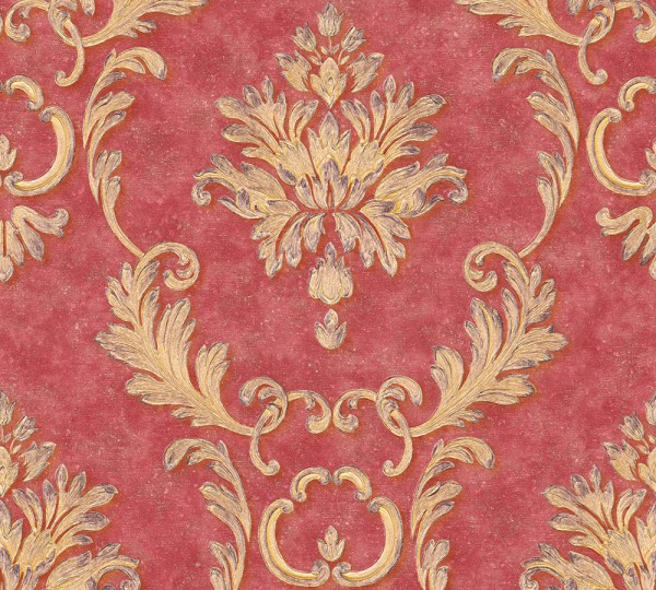A.S. Création, Luxury wallpaper, # 324226, Vliestapete, Metallic Rot