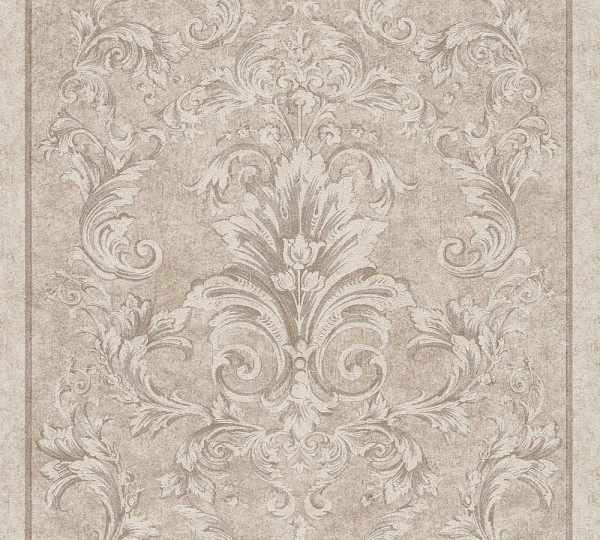 A.S. Création, Versace 2, # 962163, Vliestapete, Beige Grau Metallic, 10,05 m x 0,70 m