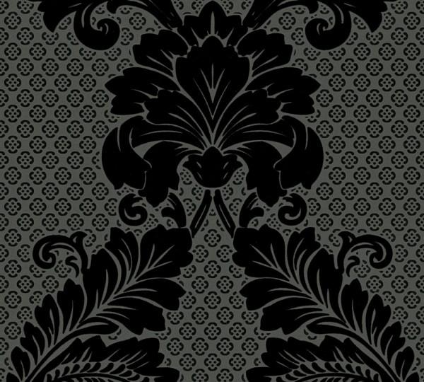 A.S. Création, Luxury wallpaper , #305445, Vliestapete, Schwarz Grau