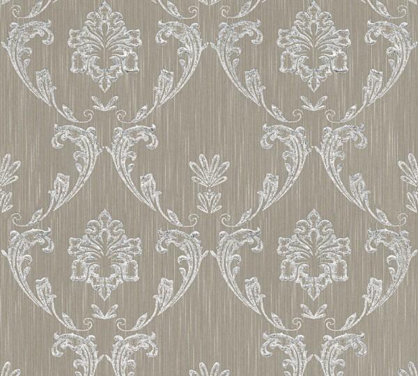 A.S. Création, Metallic Silk, # 306583, Vliestapete, Beige Metallic