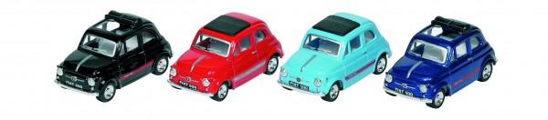 Fiat 500, Spritzguss, 1:48, L= 6,8 cm