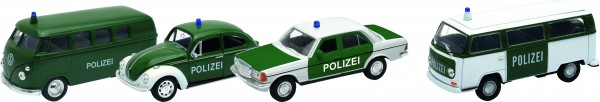 Polizei, Spritzguss, 1:34-39, L= 11,5 - 12 cm